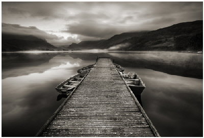 Advanced: Best Print award and Image Of The Year Award   -  Llyn Nantlle - Iwan Williams